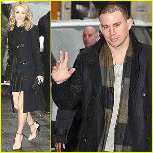Rachel McAdams & Channing Tatum: BBC Radio 1!