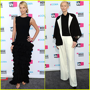 Charlize Theron & Tilda Swinton - Critics' Choice Awards 2012