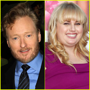Conan O'Brien & Rebel Wilson Team Up for 'Super Fun Night'