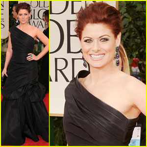 Debra Messing - Golden Globes 2012 Red Carpet