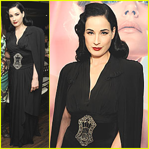 Dita Von Teese: Swarovski Press Preview
