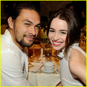 Emilia Clarke: AFI Awards with Jason Momoa!
