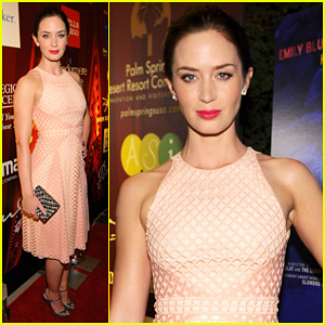 Emily Blunt: 'Salmon Fishing In The Yemen' Premiere!