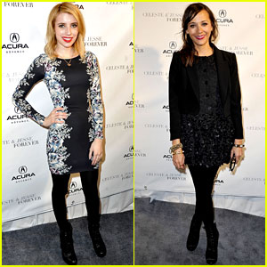 Emma Roberts & Rashida Jones: 'Celeste and Jesse' at Sundance!