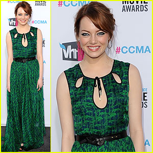 Emma Stone - Critics' Choice Awards 2012