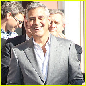George Clooney: Hollywood Walk of Fame Ceremony for John Wells!