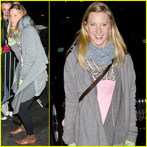 Heather Morris: 'Late Show' in NYC!