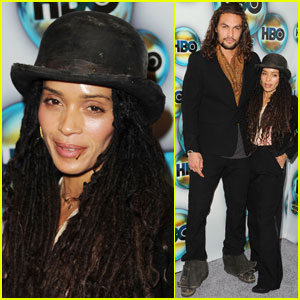 Jason Momoa &#038; Lisa Bonet: HBO's Golden Globes After Party!