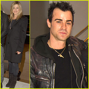 Jennifer Aniston & Justin Theroux: 'Purgatory' Screening!