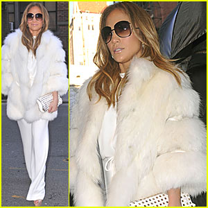 Jennifer Lopez Talks Working with Marc Anthony