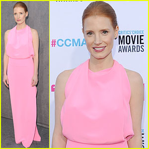 Jessica Chastain - Critics' Choice Awards 2012
