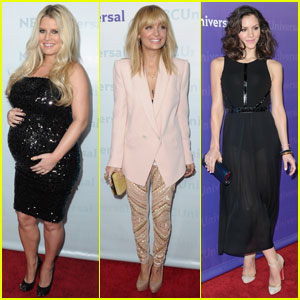 Jessica Simpson & Katharine McPhee: Winter TCA Party!