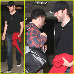 john krasinski amp jimmy kimmel home from hawaii jimmy