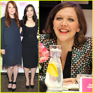 Julianne Moore & Maggie Gyllenhaal: Playing Politics Talk