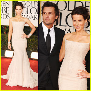Kate Beckinsale - Golden Globes 2012 Red Carpet