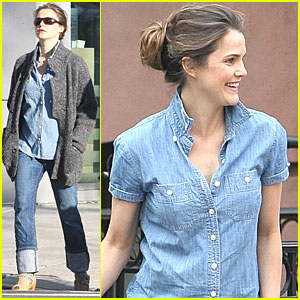 Keri Russell Debuts Post-Baby Body in Brooklyn