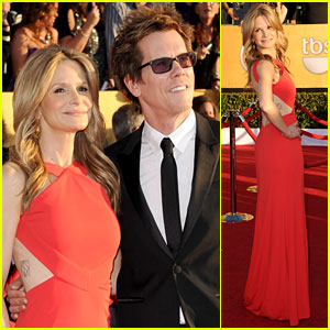 Kyra Sedgwick & Kevin Bacon - SAG Awards 2012 Red Carpet