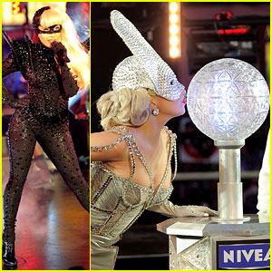 Lady Gaga: New Year's Eve Performance! | Lady Gaga : Just Jared