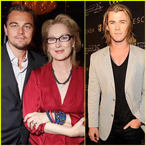 Leo DiCaprio & Chris Hemsworth: BAFTA Tea Time!