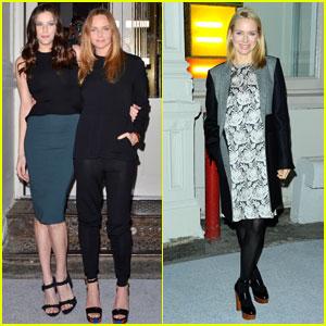 Liv Tyler & Naomi Watts: Stella McCartney Soho Opening!