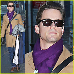 Matt Bomer: 'White Collar' Returns Tonight!