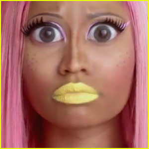 "Check out the premiere of Nicki Minaj 's "" Stupid Hoe "" video ..."