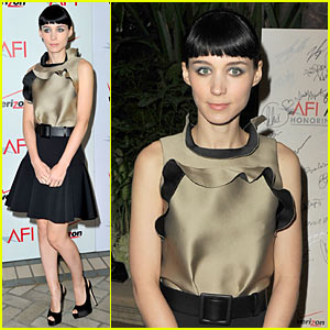 Rooney Mara: AFI Awards 2012 Red Carpet