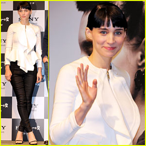 Rooney Mara: 'Dragon Tattoo' Tokyo Press Conference!