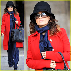 Salma Hayek: 'Puss in Boots' Gets an Oscar Nomination!