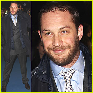 Tom Hardy: 'Iron Lady' European Premiere!