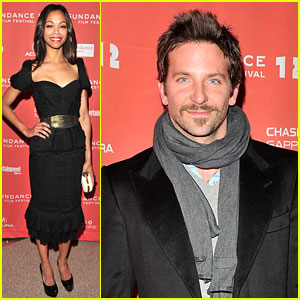 Zoe Saldana & Bradley Cooper: 'The Words' Premiere!