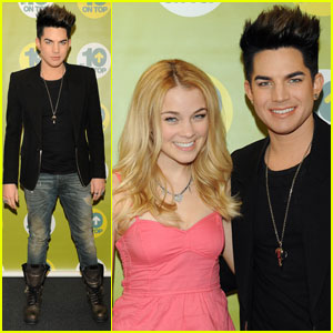 Adam Lambert Co-Hosting MTV's '10 on Top' - Sneak Peek!
