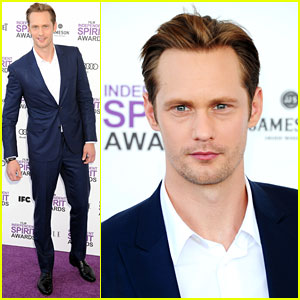 Alexander Skarsgard - Spirit Awards 2012 Red Carpet