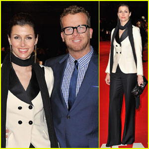 Bridget Moynahan & McG: 'This Means War' Premiere!