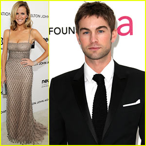 Brooklyn Decker & Chace Crawford - Elton John Oscar Party