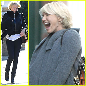 Cameron Diaz Leaves Gwyneth Paltrow's Place