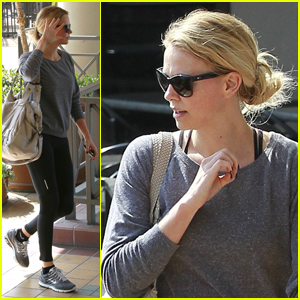 Charlize Theron: Sunday Workout!
