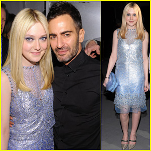 Dakota Fanning: Marc Jacobs Fashion Show!