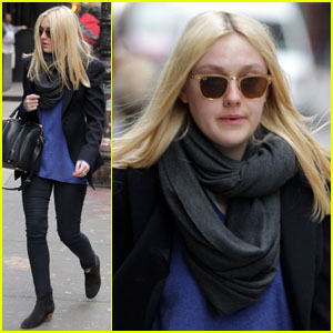 Dakota Fanning: Soho Chic