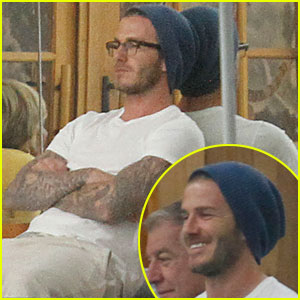 David Beckham: Romeo is a Karate Kid