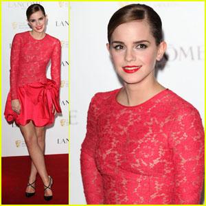 Emma Watson: Pre-BAFTA Party!