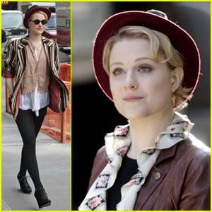 Evan Rachel Wood: 'A Case of You' Set!
