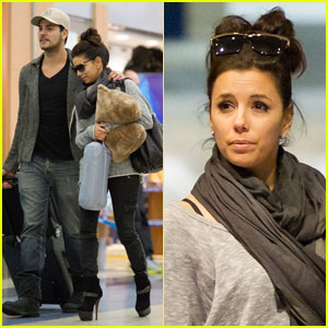 Eva Longoria & Eduardo Cruz: Late Night at LAX