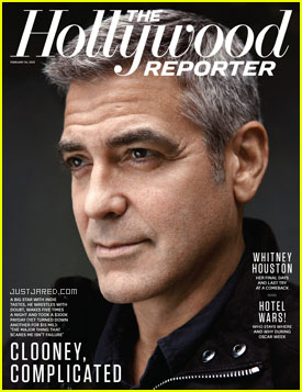 George Clooney Talks Brad Pitt Friendship with THR