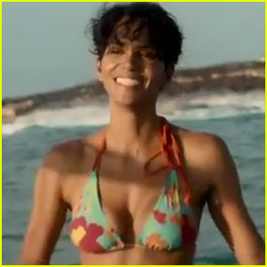 Halle Berry and Olivier Martinez come face to face with terrifying sharks in ...