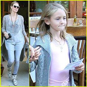 Heidi Klum & Leni: Brentwood After Ballet
