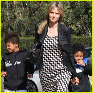Heidi Klum: Moving Forward With Divorce from Seal