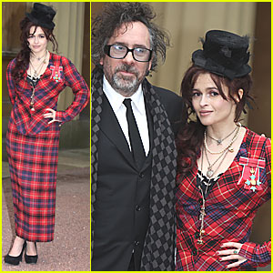 Helena Bonham Carter: Commander of the British Empire!