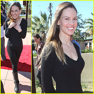 Hilary Swank: Best Friends Animal Society Grand Opening!