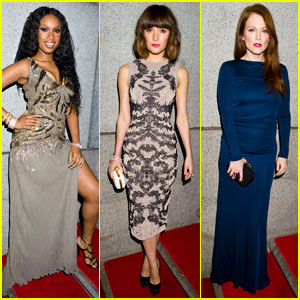Jennifer Hudson & Rose Byrne: amfAR New York Gala 2012